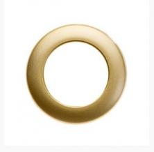 Люверсы СТ 4/40 Beladonna, золото матовое d-40мм (уп.10шт)