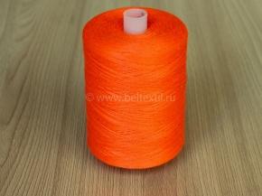 Нитки 45ЛЛ/2500м оранжевый неон