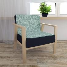 17с16-ШР Накидка на кресло 80*110 Серенада