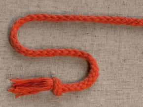 8мм. ШХ8-008-10 Шнур, D-8мм, х/б 100%, терракот