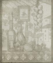 """ОБР 1737 45*60 Полотенце """"Сицилия"""" цвет серый (чеснок)"""