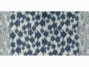 """17с356-ШР/у 56*110 полотенце """"Оригами"""" цв. 1 синий"""