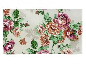 Рогожка набивная О17 рисунок 8121/2  Розалия сирень ширина 150 см
