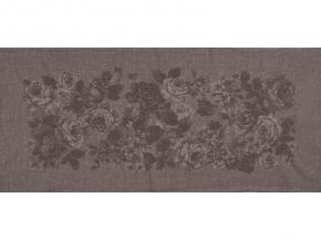 """17с356ШР/у 56*124 полотенце """"Франсуаза"""" цв. серый"""