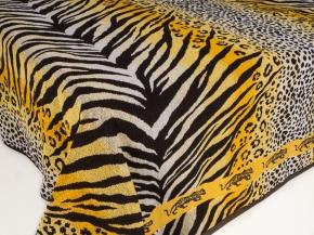 6с101.411ж1 Тигр Простыня махровая 208х150см