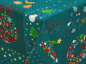 Рогожка на скатерть рис. 12242/1 Волшебные истории, 150см