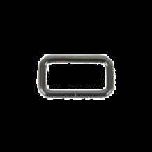Рамка металл.32х15мм (3,8мм) черный никель (уп.250шт)