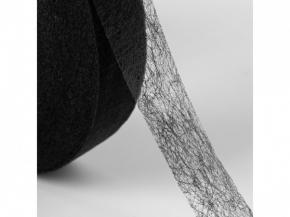 Паутинка клеевая 20мм, черный (рул.100ярд/91,44м)