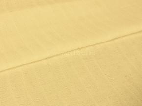 Ткань плательная гладкокрашеная Муслин арт.700 цв. 86031/1 желтый, 150 см