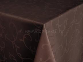 1809Б-01 Скатерть 1927/090902 шоколад 148*180