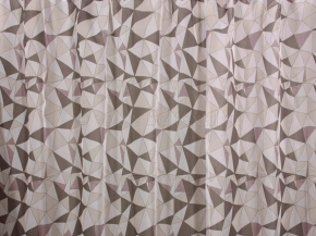 Вуаль печать T RS 289-03/280 VPech коричневый, ширина 280см