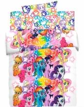 """КПБ 1.5 сп хлопок """"My little Pony Neon"""" Граффити"""