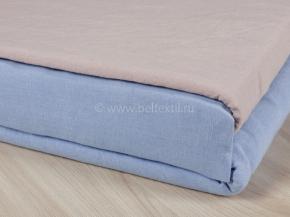 18с308-ШР/уп. 225*210 КПБ цв 435 голубой с серым