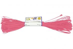 1С13-Г50 ШНУР ОТДЕЛОЧНЫЙ (сутаж) ярко-розовый*164, d-1.8мм (рул.20м)