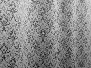 Портьера  блэкаут T RS 4893-02/145 PJac BL серый, ширина 145см