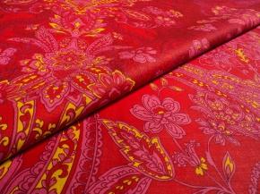 Герцогиня компаньон, цвет красный рисунок 20051/1 Перкаль ширина 220см