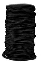 Шнур шляпный 3 мм черный (уп.100 м)