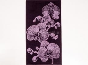 7с103.416ж1 Орхидея Полотенце махровое 47х90см
