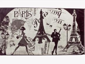 """4с82.111 """"Мечты о Париже"""" Полотенце махровое 67х150см"""