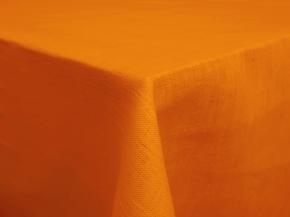 13С263-ШР/уп. Скатерть 100% лен 144*120 цв. 258 желтый