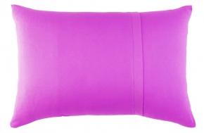Набор наволочек трикотажных (2 шт) 50*70 цвет фиолетовый