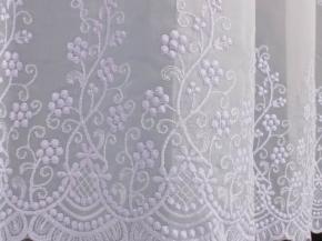 Вуаль вышивка T FB 120774-w/300 VB, ширина 300см