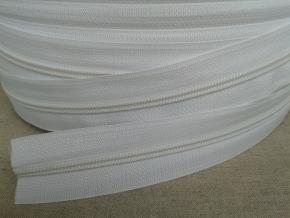 Молния витая рулонная Т5, белый (рул.250м)