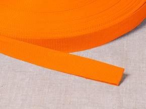 Стропа 30мм (пл.17,5гр) оранжевый*114 (рул.100м)