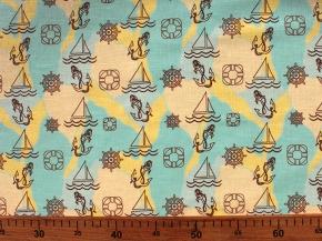 Ткань для постельного белья арт. 00603/620-1 рис. 9454/702, ширина 150см