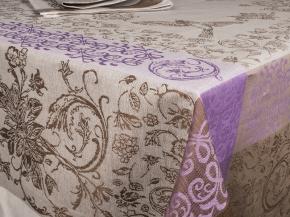 16с412-ШР / уп. комплект столовый Серенада 150х150 + 6 салфеток 48*48 цвет 1