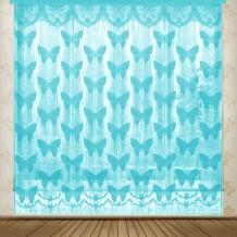 22С13-Г10 рис.2132 занавеска 165*250 цвет голубой