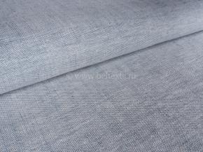 Ткань 1654ЯК п/лен пестротканый рис. 10,0 серо-голубой сорт 1, ширина 150см