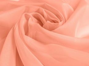 Вуаль однотонная ZN 38/300 V пастельный розовый, ширина 300см