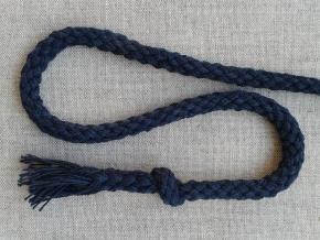 ШХ8-007-5 Шнур, D-7мм, х/б 100%, т.синий