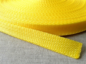 Стропа 20мм, желтый (рул.50м)