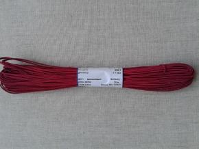 1С14-Г50 ШНУР ОТДЕЛОЧНЫЙ (сутаж) малиновый*021, d-2.5мм (рул.20м)