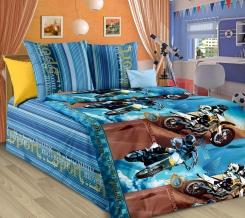 1130  КПБ  1.5 спальный рисунок  Драйв