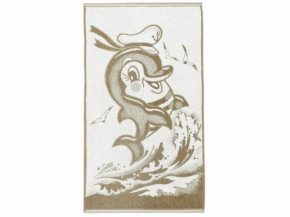 """4с96.121 """"Дельфин-морячок"""" Полотенце махровое 50х90см"""