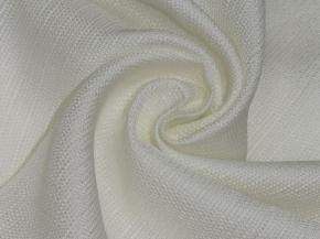 Ткань портьерная T HH ZJM417-01/280 PL белый, ширина 280см