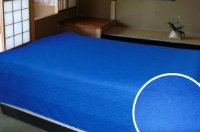 АРТ-003 Покрывало-плед 150*210 цвет голубой