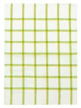 16с247-ШР 35*50 полотенце Клетка цвет 1 желтый с зеленым