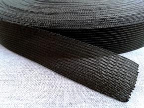 Тесьма вязан.окантовочная 22мм (2,4гр/м), хаки (рул.100м)