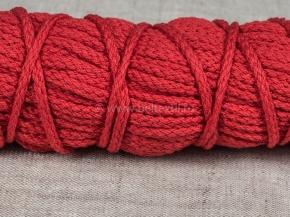 ШХ8-003-7 Шнур, D-3мм, х/б 100%, красный