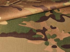 Ткань смесовая СVC 60/40 Cатин (340-5г/м2) Кмф мульт